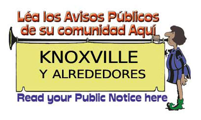 CLASSIFIEDS – CLASIFICADOS — PUBLIC NOTICE – AVISO PUBLICO
